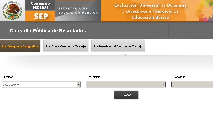 Resultados evaluacin Carrera Magisterial Docentes 2012